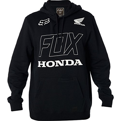 Hoody Sweatshirt Honda (Fox Racing Men's Fox Honda Hoody Pullover Sweatshirts,Small,Black)