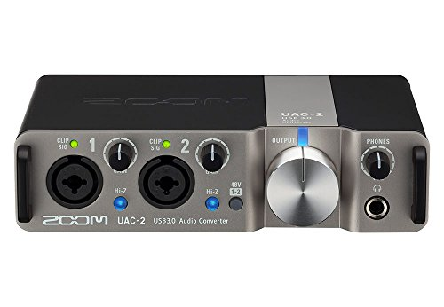 Zoom UAC-2 USB 3.0 High-Speed Audio Recording Interface