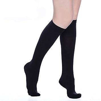 b3c8f7266 ppxroro rodilla alta calcetines de compresión para hombres y mujeres.  edemas, varices, viajes