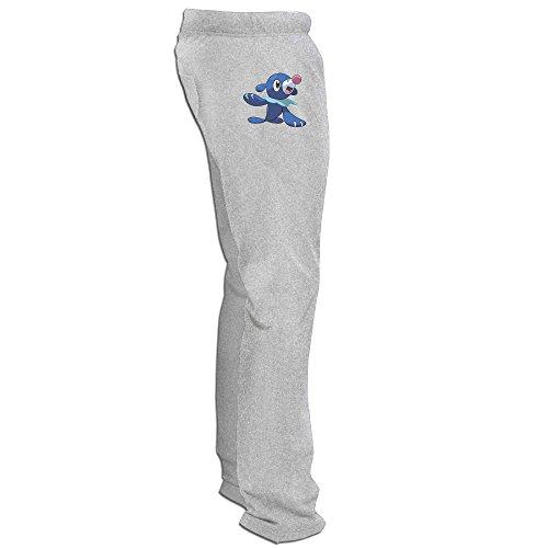 Texhood MEN'S Pokemon Popplio Ash Harem Pants Size XL