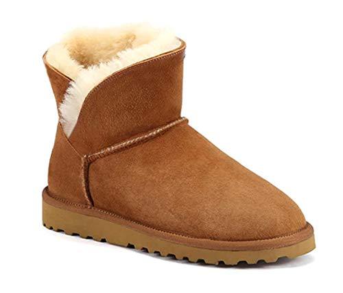 Entièrement Basses Boots Fourrées Marron Ws fp8WqEwwA