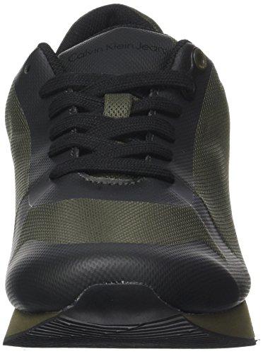 HF Uomo Black Mesh Jabre Calvin Cargo Sneaker Klein Multicolore tSwqWBvZ