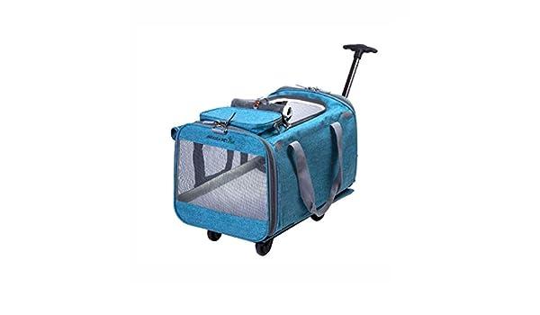 Lihuaa Pet Stroller Desmontable Pet Trolley Bolsa Dog out Bag ...