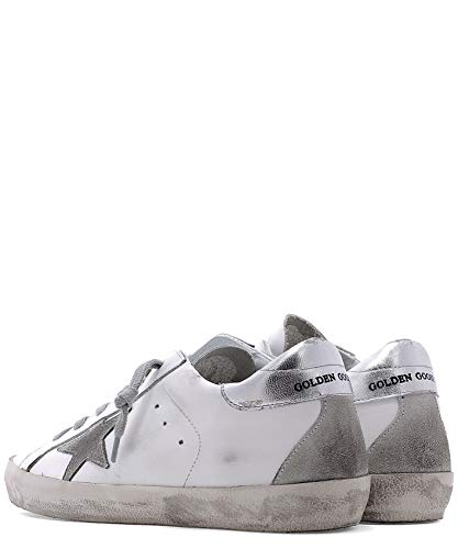 Pelle Donna Sneakers Goose Golden Bianco Gcows590w77 IxwBzPwqH