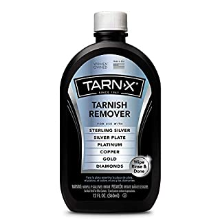 Tarn-X Tarnish Remover, 12 Ounce Bottle. 2-Pack