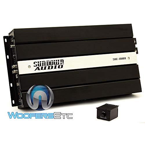 SAE-1500D - Sundown Audio Monoblock 1500W RMS Digital Class D Amplifier