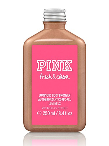 Victoria's Secret Pink Fresh and Clean Luminous Body Bronzer 8.4 Oz - Pink Bronzer