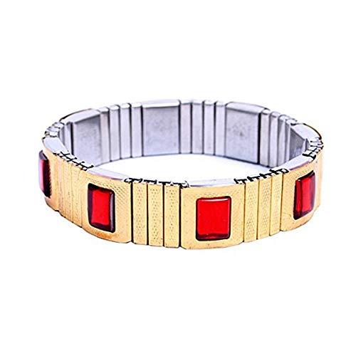 Epyz Blood Pressure Belt Magnetic Bracelet to Control Blood Pressure [ Golden ] (Multiolour, Men)