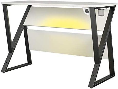 NTense Genesis Adjustable Gaming Desk in White 141[並行輸入]