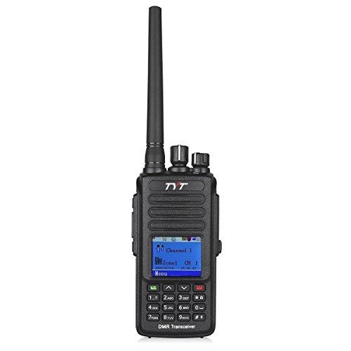 TYT Tytera MD-390 DMR Digital Radio Waterproof Dustproof IP67 Walkie Talkie Transceiver,  Black by TYT