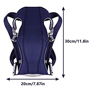 TOYANDONA Baby Carrier with Hip Seat Infant Newborn Hip Seat Safety Carrier Backpack Adjustable for Summer Outdoor…