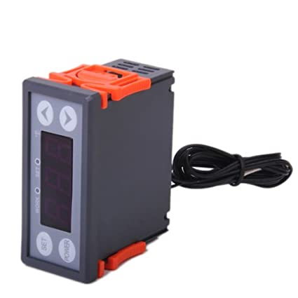 Digital electrónica wh9002 a de control de temperatura controlador termostato Digital LCD, 110 V,