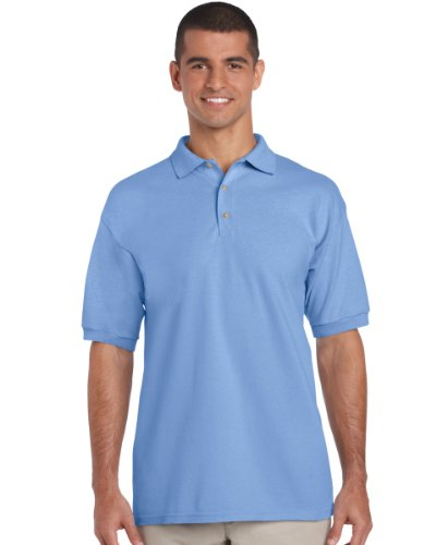 Gildan 3800 Ultra Cotton Erwachsene Combed Ringspun Pique Polo Shirt Carolina Blau S