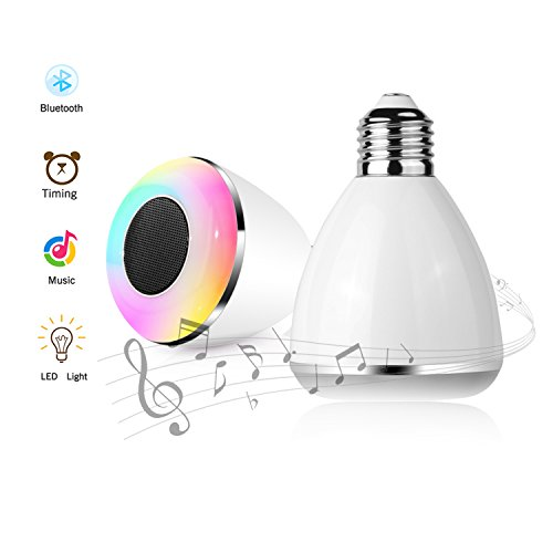 Bluetooth Led Light Bulb Color Changing Smart Light Remot...