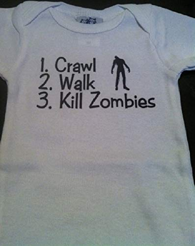 crawl walk kill zombies infant one piece -