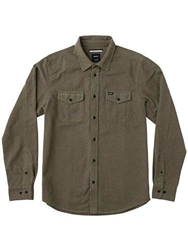 Herren Hemd lang RVCA Backyard Shirt LS