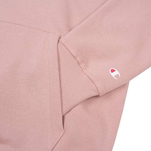 Champion Damen Kapuzenpullover Hooded Sweatshirt 113207, Farbe:rosa (MSY), Größe:L