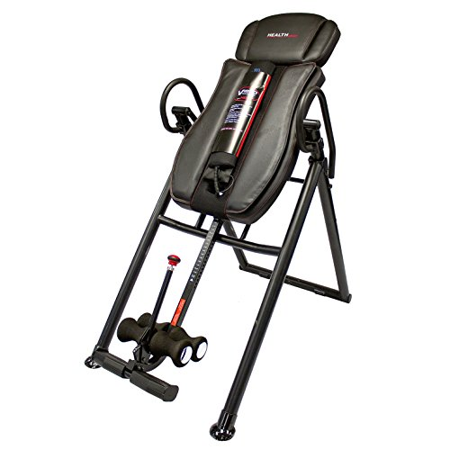 Health Gear ITM7.5 Big & Tall Heat & Massage Inversion Table by Health Gear