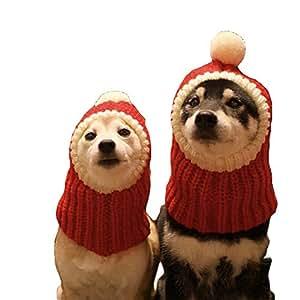 Amazon.com: NACOCO - Gorro de Navidad para perro, diseño de ...
