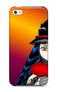 Hxy Iphone 5c Hard Case With Fashion Design/ RMEYXUM201ppuEg Phone Case