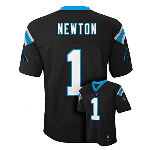 Cam Newton Carolina Panthers Black NFL Kids 2016-17 Season Mid-tier Jersey (Kids 5/6)