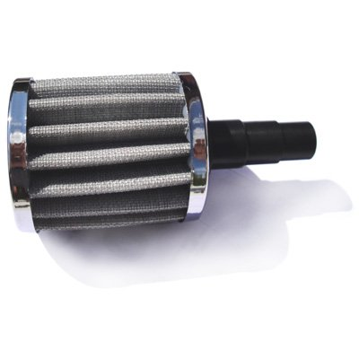 MAGNUM WASHABLE Crankcase Vent Filter Breather Jeep Cherokee 4.0L to 5/8...3/4 Inch ID hose by Magnum Tuning