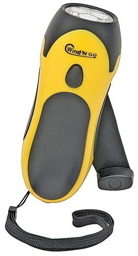 Wind 'N Go Flashlight (Yellow)