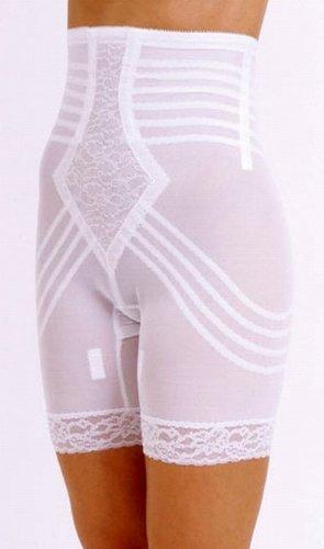 Rago Shapewear High-Waist Long Leg Pantie Girdle Style 6209 - Beige - 2XLarge High Waist Pantie Girdle