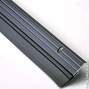 Frost King B59/36H Premium Aluminum And Vinyl Door Sweep 1-5/8-Inch by 36-Inches, Bronze