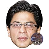Shah Rukh Khan (Glasses) Celebrity Mask, Card Face and Fancy Dress Mask