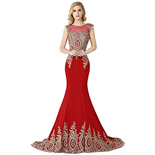Red Prom Dresses Long: Amazon.com
