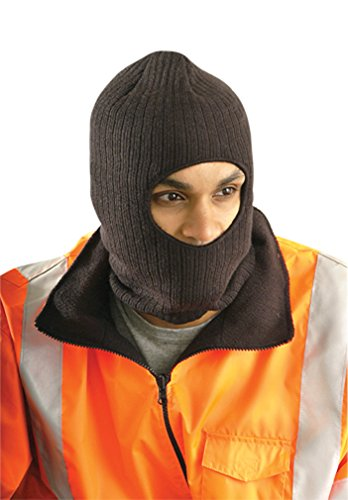 Stay Warm - INSULATED Face Cap - Thinsulate - Made in the USA - Black - 12-PACK by Haynesville