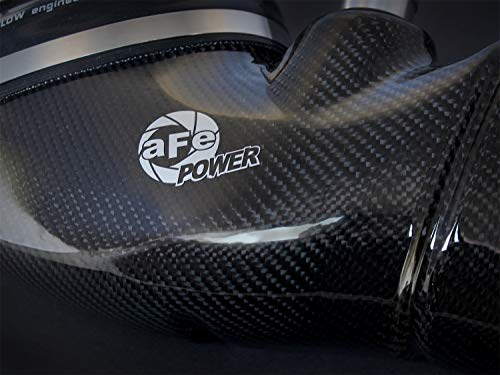 aFe 51-31662-C Magnum FORCE Pro Dry S Carbon Fiber Stage-2 Intake System for BMW M3 (E9X) V8-4.0L Engine (Non-CARB Compliant) ()