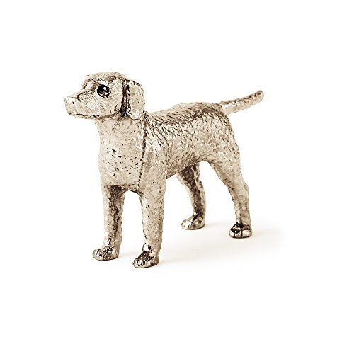 (Curly Coated Retriever Made in UK Artistic Style Dog Figurine Collection)