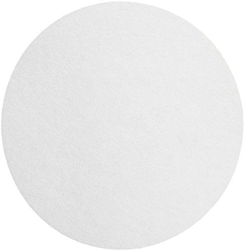 Whatman 1452-240 Hardened Low Ash Quantitative Filter Paper, 24.0cm Diameter, 7 Micron, Grade 52 (Pack of 100) by Whatman