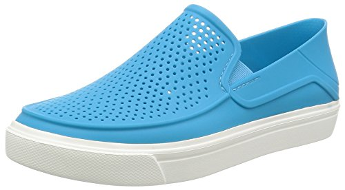Crocs Women's Citilane Roka Slip-On W Flat, Electric Blue, 8 M - Roka Blue
