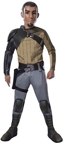 [Rubies Star Wars Rebels Deluxe Kanan Costume, Child Medium] (Rebel Star Wars Costume)