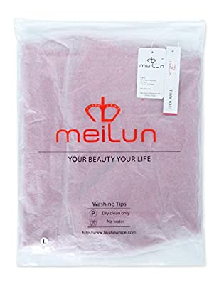Meilun Women's Rayon Strap V-Neck Bandage Bodycon Party Dress