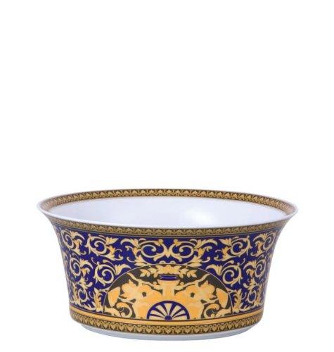 Versace Medusa Blue Open Vegetable Bowl - 115 oz