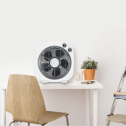 Gelaiken Desktop Fan Home Fan Desktop Fan Home Turn Fan Office Light Tone Fortune Student Fan Dormitory Mini Table Fan Table Desk Fan for Home and Travel by Gelaiken (Image #6)