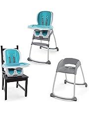Ingenuity Trio 3-in-1 Smartclean High Chair - Aqua, Blue