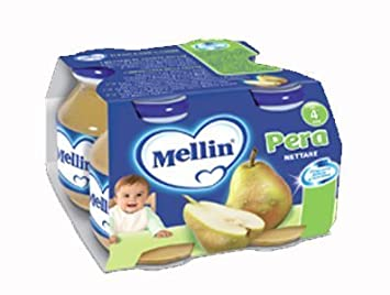 Mellin Pera Nettare Baby Juice 2 Four Packs