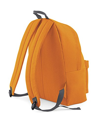 Bagbase Fashion Rucksack, 18 Liter One Size,orange /Graphite Grau
