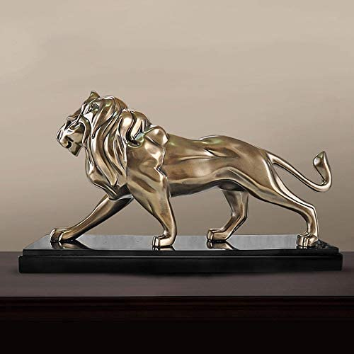 ホームデコレーション - クリエイティブライオンのライオンの装飾、リビングルームのベッドルームの装飾、写真の小道具、机の装飾、樹