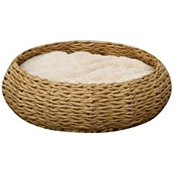 Woven Pet Bed Material: Seagrass