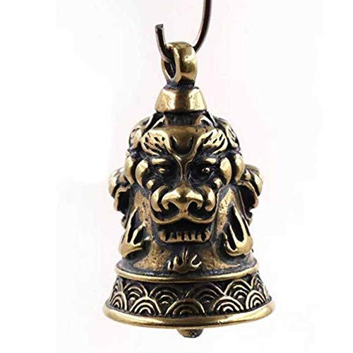 - Qlychee 1Pc Tiger Head Bell Pendant for Bracelet Necklace Jewelry Making Accessories DIY