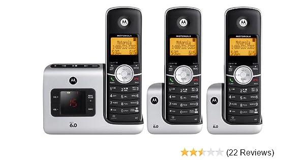 amazon com motorola l403 dect 6 0 cordless phone with answering rh amazon com L403 Pill Battery Motorola L403