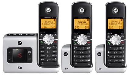 amazon com motorola l403 dect 6 0 cordless phone with answering rh amazon com Motorola DECT 6.0 Acetaminophen 325 Mg