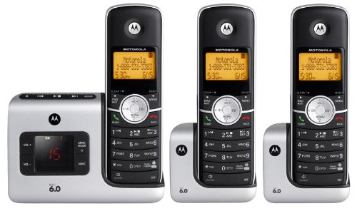 Motorola L403 DECT 6.0 Cordless Phone with Answering System