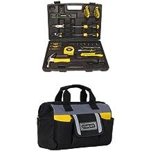 Stanley 94-248 65-Piece Homeowner's Tool Kit w/ Tool Bag